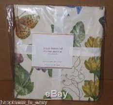 Botanical Shower Curtains Nwt Pottery Barn Poppy Botanical Print Vintage Shower