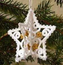 3d free standing lace ornaments sku10557