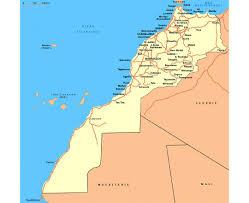 Mali Map Africa by Maps Of Western Sahara Detailed Map Of Western Sahara In English