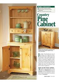 furniture in the kitchen storage cabinets wood low cabinet diy country pine plan woodfan