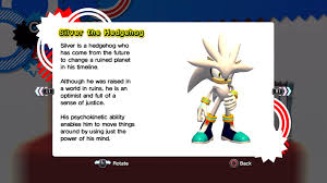 silver the hedgehog sonic news network fandom powered wikia personality