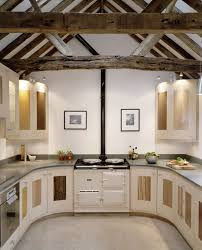 u shaped kitchen design for more efficient kitchen works