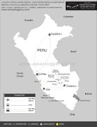 Machu Picchu Map Luxury Peru Honeymoon Southern Beach Vineyards Machu Picchu
