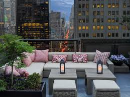 Patio Furniture Nyc by New York New York Top 8 Rooftop Bars Modern Home Decor