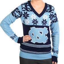 north carolina tar heels ugly sweaters unc ugly christmas sweater