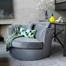 Comfortable Chairs For Living Room by Oriole Chair Lux Grey Accent Chairs Living Urban Barn