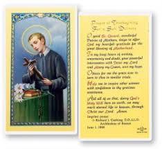 patron prayer cards from catholic faith store page 26