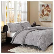 Faux Fur Duvet Cover Queen Faux Fur Bedding Target