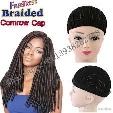 crochet hair wigs for sale faux locs crochet braids hair use cornrows wig cap for making wig
