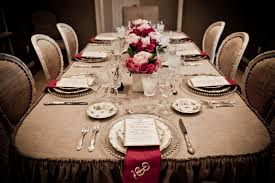 dining table decoration fancy dinner table settings loris decoration