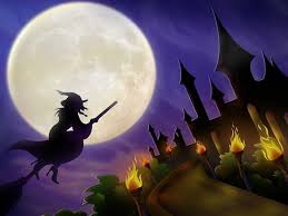 beautiful halloween background witch wallpapers group 82