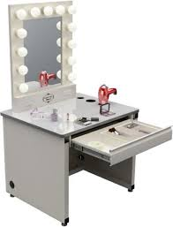 Makeup Vanity Table With Lights And Mirror Perfect Lighted Makeup Vanity Table With Makeup Vanity With Lights