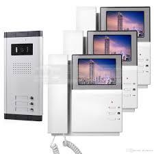 front door video camera 4 3 hd apartment video door phone video intercom doorbell system