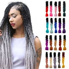 extension braids multicolor 24 ombre synthetic jumbo braiding hair extension afro
