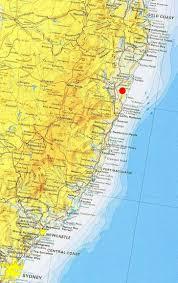 Map East Coast Map Of East Coast Nsw U2013 Migx