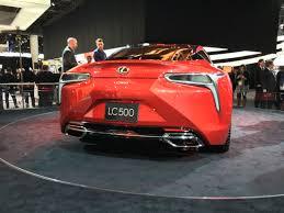 lexus lc 500 review 2017 2016 detroit 2017 lexus lc 500 brings in new era for brand