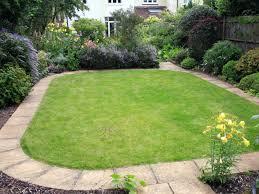 decor concrete landscape edging ideas in round shape for garden
