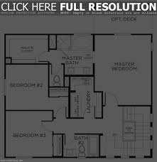 apartments 3 bed house floor plan bedroom houses house design