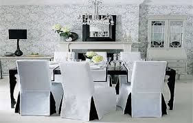 Diy Dining Room Chair Covers by Chair Covers For Dining Room