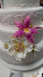 Wedding Cake Gum Wedding Cake Gum Paste Flowers Rose Peony Orchid Open Peony
