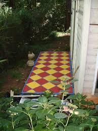 the 25 best concrete patio paint ideas on pinterest painted