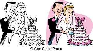 wedding cake clipart married cuts the wedding cake married cuts clip