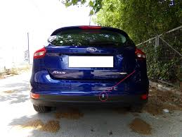 lexus gs rear bumper rear bumper removal due to a dent ford focus forum ford focus