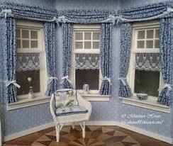 miniature house curtains part i
