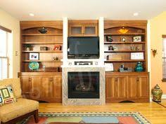 In Wall Bookshelves by Built In Fireplace Wall Units Built Ins Wall Units Fireplaces