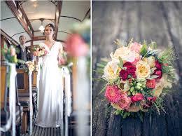 d co mariage vintage shooting d inspiration dans le tramway décoration vintage mariage