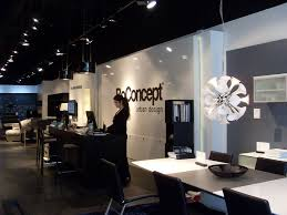 lighting stores santa monica bo concept retail store michael w folonis architects