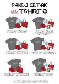 design baju yang smart contoh design baju kelas mohcetakbaju com
