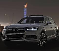 Audi Q7 Night Black - the new q7 in the shadows of the night car 2016 audi q7 3 0tfsi