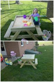 Patio Furniture On Craigslist by A Picnic Table Sandbox Http Lancaster Craigslist Org Bad
