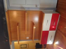 dresser combination bookcase solid maple 50 u0027s style 2 color