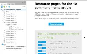 the 10 commandments of efficient design in axure u2013 smashing magazine