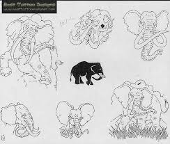 elephant tattoo images u0026 designs