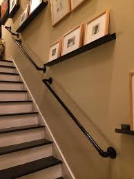 finished product diy railing for stairs using 1
