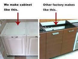 sk364 modern comfort prefab kitchen cabinet mdf matt finish
