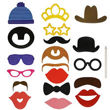 photo booth supplies 24pcs photo booth diy hat mustache frame props wedding birthday
