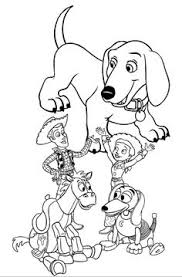 woody toy story coloring coloring pages kids