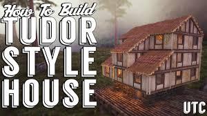 tudor home ark tudor house ark build guide medieval house building
