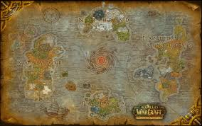 Wow Kalimdor Map High Quality Printable Map Of Azeroth U2013 The Stormwind Gallery