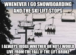 Snowboarding Memes - skiers and snowboarders thoughts snowboarding pinterest