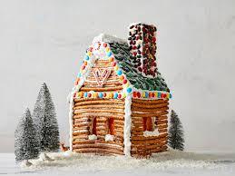 skip the gingebread house kit make a pretzel rod log cabin