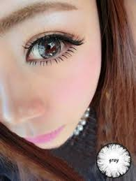 cool colored circle contact lens crystal eyes grey cool colored