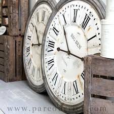 Best 25 Large Wall Clocks Best 25 Large Vintage Wall Clocks Ideas On Pinterest Large