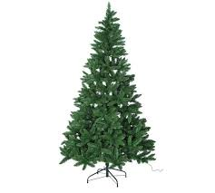7ft christmas tree buy collection 7ft pre lit christmas tree green at argos co uk
