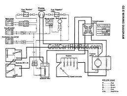 wiring diagram electric club car golf cart battery wiring diagram