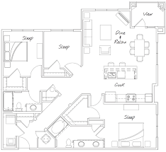 Watermark Floor Plan League City Tx Apartments Watermark At Walker Commons